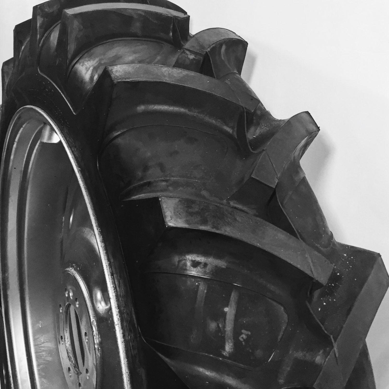 a close-up of a black helmet