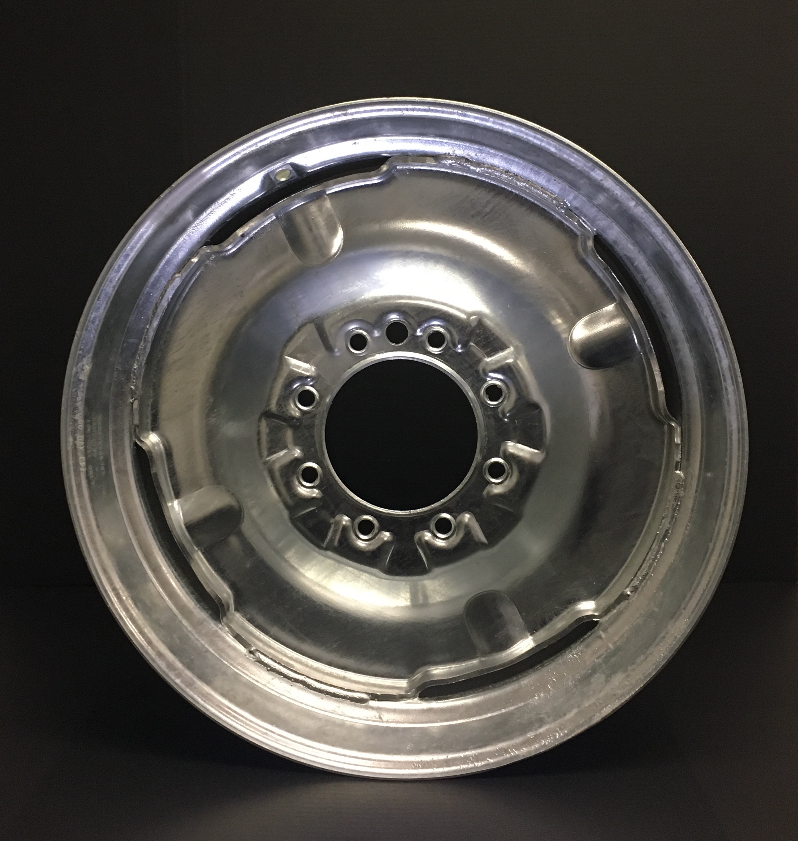24X8 8 ON 8 GALVANIZED PIVOT WHEEL
