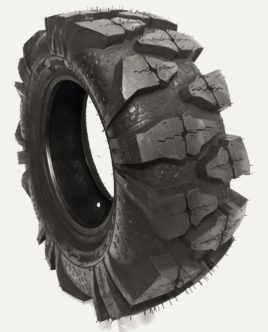 25X10-12 6PLY Tomahawk ATV UTV RVT Tire