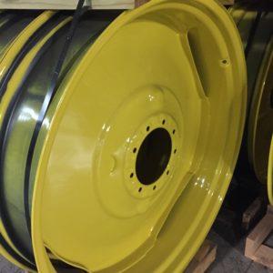 a yellow circular object