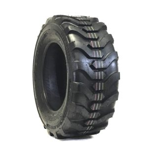 a black tire with a silver rim