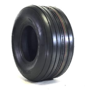 a black and red tire
