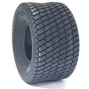 a black tire on a white background